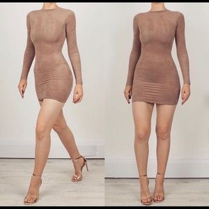 Boom boom the label nude dress